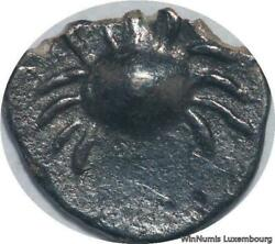R5946 Rare Cambodia Bi 1/2 Pe Ang Duong Nd 1847 Crab Uniface Silver M Offer