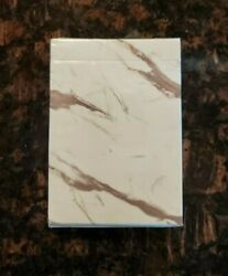 Marble Bloc Playing Cards Deck New Sealed Rare Limited Poker Magic Cardistry