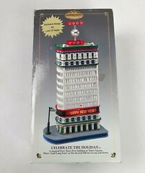 Mr Christmas Gold Label Happy New Year 2000 Times Square Mechanical Collectibles
