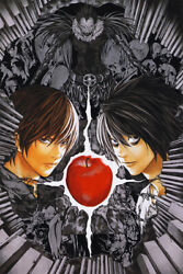 Death Note Amazing Collage Skull Rare Hot Art Wall Indoor Room POSTER 24X36