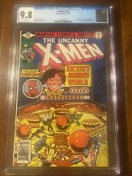 X-men 123 7/79 Cgc 9.8 White Pages Iconic Byrne Cover Excellent High Grade