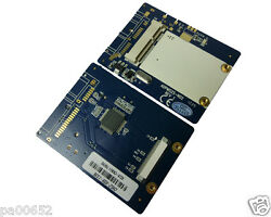 Msata Ssd To 1.8 40p Zif Pata Adapter Card Mini Sata To Zif With Lif Zif Cable