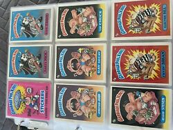 Garbage Pail Kids Collection With Wrapper