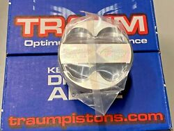 P2r Traum 89mm Hi-dome Top Forged Pistons For J32 J35 J37 J-series Honda Acura