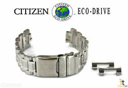 Citizen Eco-drive Cc9030-51e Original Stainless Steel Watch Band Strap S104998