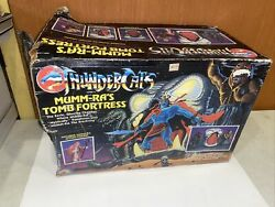 Thundercats Vintage Mumm-ra's Tomb Fortress Playset W Box And Figures Gorgeous