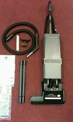 Electrolux Commercial 2-motor Bagged Upright Vacuum Cleaner And Attachment Kit