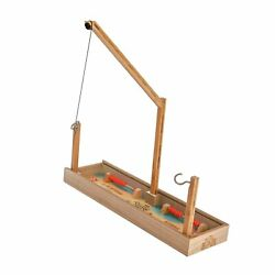 Tiki Toss Head 2 Head 2-player Hook And Ring Toss Game