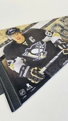 Sidney Crosby Pittsburgh Penguins 87 Pennant Nhl Collector Player Pennant New