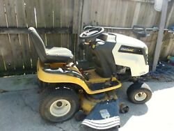 Cub Cadet Ltx1045 46riding Mower Pick Up Only/untested/will Run