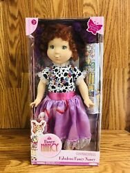 Fabulous Fancy Nancy Doll Approx 18 Inches And Accessories