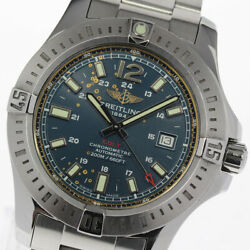 Breitling Colt A17388 Navy Dial Automatic Men's Watch_615768
