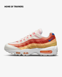 Nike Air Max 95 Campfire Orange Sail Laser Girls Womenand039s Trainer All Sizes