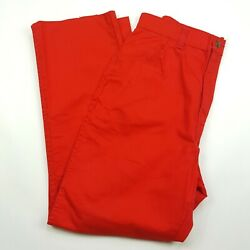 Vintage 70s 80s Washington Dee Cee Women's Size 29 X 27 Red Pants Jeans Usa Made