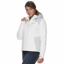 Columbia Womenand039s Tipton Peak Hooded Insulated Jacket Size Xxl Nwt Msrp 160
