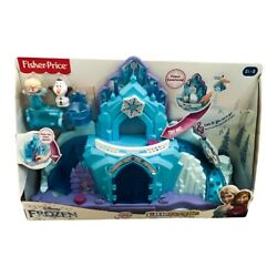 Fisher-price Disney Frozen Elsaand039s Ice Palace With Lights Sounds Song Toy