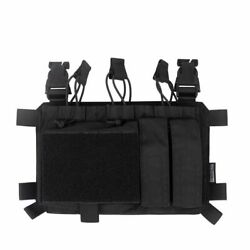 Molle Triple Mag Pouch With Utility Carrier Tactical Magazine Holder Ammo Bag
