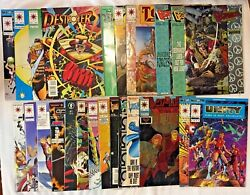 24 Early Valiant Vf/nm All 's 0 1 2 3 Unity Armorines Destroyer Visitor Ninjak