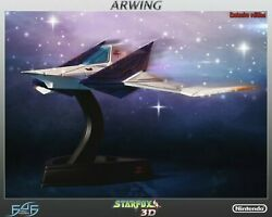 New Sealed Star Fox Arwing Exclusive Statue Nintendo First 4 Figures Rare