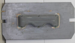 Casting Plate For 348-409 Chevrolet Finned Valve Cover Weiand Moon Style
