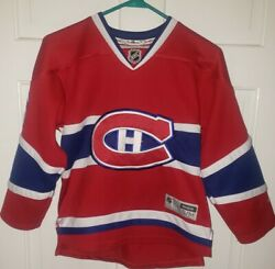 P.k. Subban Montreal Canadiens Nhl Red Poly Hockey Jersey. Youth Size S M