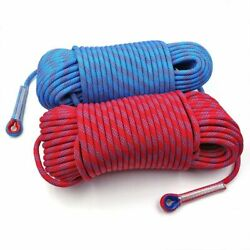 Rock Climbing Rope Safety Rescue Cord High Strength Tree Wall Rappelling Gear