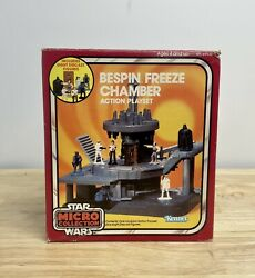 Star Wars Vintage Micro Collection Bespin Freeze Chamber Playset Kenner Mib