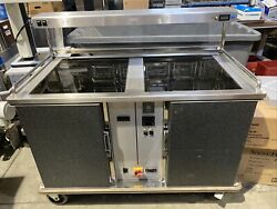 Dinex Stainless Steel Perfect Serv Perfect Serve Refrigerator/oven/8 Rack.