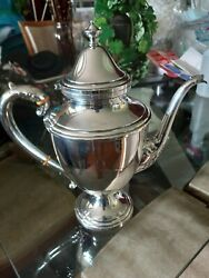 Frank M Whiting Company Coffee Pot Sterling Silver 950 / 1000 3 1/4 Pint 706