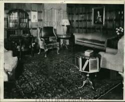 1929 Press Photo English 18th Century Duncan Phyfe Tables Queen Anne Furniture