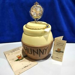 Disney Winnie The Pooh Watch Collectors Club Honey Tree Fossil Hunny Pot Limited