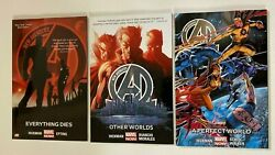 New Avengers Tpb Lot 3 Different From 1-4 8.0 Vf 2014-15 Marvel Now