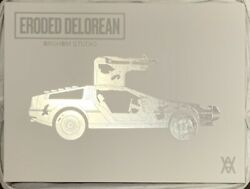 Daniel Arsham Eroded Delorean Limited Edition /500 - Brand New In Box - In Hand