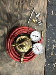 Victor Vts 450a Compressed Gas Regulator 3000 Psig With Extras Must See
