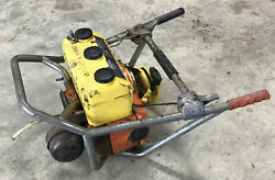 Vintage Mcculloch Chainsaw 2-man Saw Model 99 - For Parts Xxx