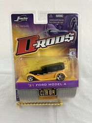 Jada Toys D-rods 1/64 Diecast 2006/wave 2 '31 Ford Model A Ctlr014 Yellow/black