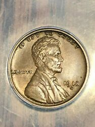 Beautiful 1918 S Wheat Penny In Au++ Condition.