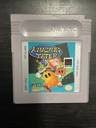 Extremely Rare And Mint Amazing Tater Cartridge And Manual Gameboy Grail Wata Vga