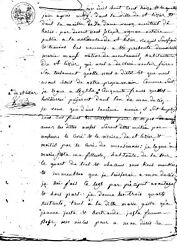 1813 A Last Will From A French Village, Old Manuscript, Napoleonic, Seals