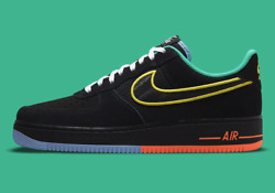 Nike Air Force 1 '07 Lv8 Shoes Peace And Unity Multi Color Dm9051-001 Men's New