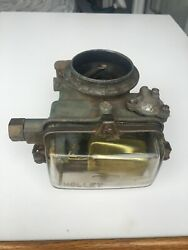 1958-1962 Ford Holley Glass Bowl 1-bbl Carburetor. Part 6r 1545b. For 215/223