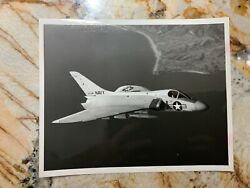 Usn Navy Douglas F4d Skyray Carrier Based Fighter Aircraft Photo 1867