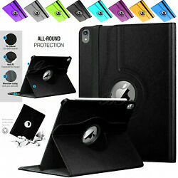 Lot For Apple Ipad Air 1 2 Pu Leather 360 Rotating Shockproof Stand Case Cover