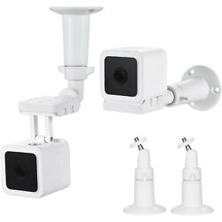 Wasserstein Wall Mount Compatible With Wyze Cam V3 Only 2 Pack
