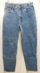 Vintage Bill Blass Women's Size 8 High Rise Tapered Leg Easy Fit Jeans 28x30