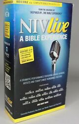 Niv Live A Bible Experience Complete Audio Book 79 Cds And 1 Dvd In Case