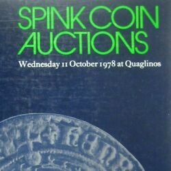 Spink Coin Auctions Catalog Coins Ppb No 1 1978 Numismatic