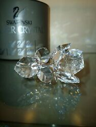 Lot Of 2 Crystal Figurines The Rose And The Owl