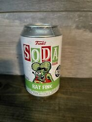 🐭funko Soda Rat Fink Chance Of Chase- Sealed Can - Ready To Ship 🔥💪🏼