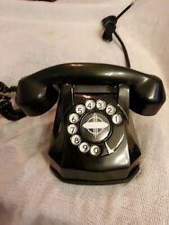 Vintage Collectible Rotary Monophone Phone Phillips Electric Works Full Restored